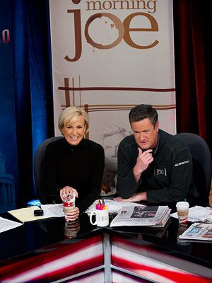 10. MORNING JOE (MSNBC) The commercials are endless and there are too many white guys in ties, but this is still a fine way to…