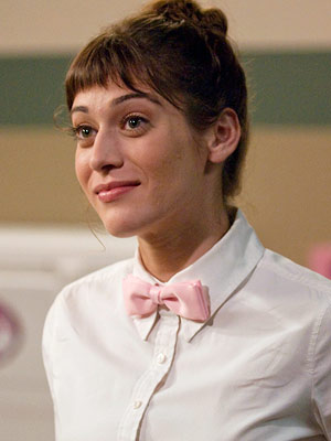 Party Down | Casey Klein (Lizzy Caplan), Party Down Yes, you have amazing, enormous eyes. No, you are not cute enough to work these bangs. Nobody is! Wipe…