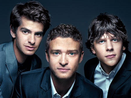 Justin Timberlake, The Social Network | including Andrew Garfield, Justin Timberlake, and Jesse Eisenberg The Social Network 's young cast all seem poised to storm Hollywood. Twenty-seven-year-old Jesse Eisenberg's take on…