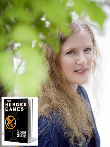 Suzanne Collins | Despite criticism of the kid-on-kid violence in her bestselling Hunger Games trilogy, Collins, 48, believes the books pack a powerful antiwar message. ''My dad was…