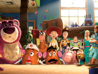 Toy Story 3 | 4. Toy Story 3 No movie this year has provided more satisfying laughs or more meaningful tears than this magnificent apotheosis of the Toy Story…