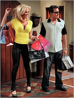 Two and a Half Men | TWO AND A HALF MEN Jenny McCarthy and Charlie Sheen