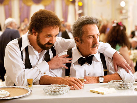 Paul Giamatti, Dustin Hoffman | Paul Giamatti snagged a Golden Globe for playing a thrice-married soap opera producer in a sweet R-rated Canadian comedy that just hit U.S. theaters. Watch…