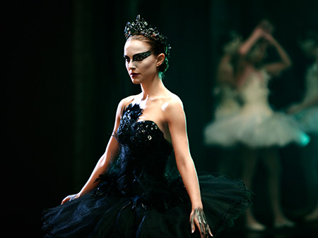 Black Swan, Natalie Portman | What Owen said: ''Darren Aronofsky's backstage ballet thriller Black Swan is lurid and voluptuous pulp fun, with a sensationalistic fairy-tale allure. You can't take it…