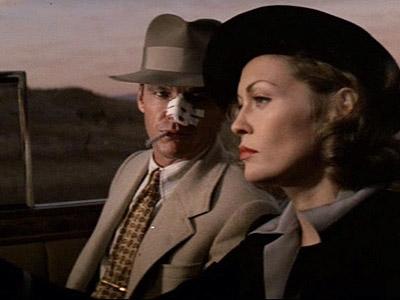 Faye Dunaway, Jack Nicholson, ... | JACK NICHOLSON and FAYE DUNAWAY, Chinatown (1974) Both Nicholson and Dunaway won Oscar nods for their performance in Roman Polanski's last U.S.-made movie — and…