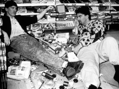 Clerks, Brian O'Halloran, ... | Shot for $27,500, Kevin Smith's slacker landmark is the ultimate low-budget do-it-yourself indie, because it's such a perfect fusion of form and function: It's about…