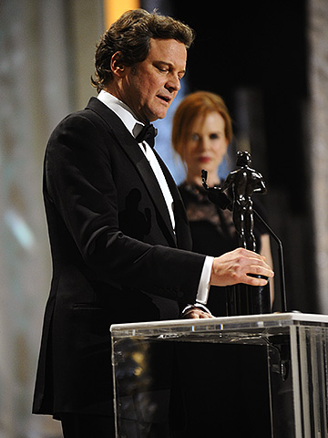 Colin Firth, Screen Actors Guild Awards 2011 | Colin Firth takes a trip down memory lane It was the biggest no-brainer of the night. It was refreshing to hear an assured winner wax…