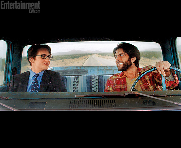 Wes Bentley, Vincent Piazza | In the indie 3 Nights in the Desert (release date to be determined), Bentley (right) plays an unhinged musician named Travis. ''He's a very brash,…