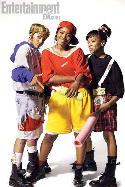Watch out, scrubs: TLC are back. This November the beloved R&B group will get the movie treatment in VH1's Crazy, Sexy, Cool: The TLC Story…