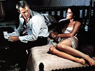 Ali MacGraw, Steve McQueen, ... | STEVE McQUEEN and ALI MacGRAW, The Getaway (1972) McQueen and MacGraw's offscreen sparks (they fell in love during the shoot and married the next year)…