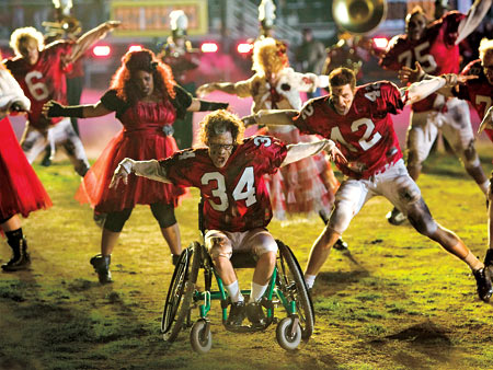 Glee | The Super Bowl episode is Glee 's most elaborate and most expensive episode to date. Says co-creator Ryan Murphy, ''Everything is bigger and sort of…