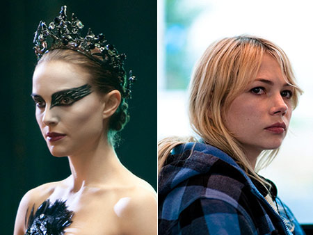 Will win: Natalie Portman, Black Swan Should win: Michelle Williams, Blue Valentine Unless the HFPA's love for Nicole Kidman leads to a shocking upset, Portman's…