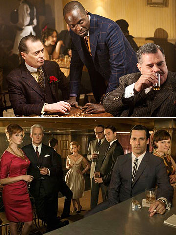 Boardwalk Empire, Steve Buscemi | Will win: Boardwalk Empire This beautifully crafted period piece about Prohibition gangsters and the women who love them is just the sort of exalted-pedigree material…