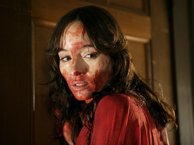 The House of the Devil, Jocelin Donahue | The House of the Devil (2009) Jocelin Donahue's impoverished student finds out why you should never accept a $400 babysitting gig from the creepiest man…