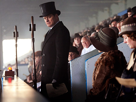 The King's Speech, Colin Firth | What Lisa said: ''Lest the audience miss a cue, [director Tom] Hooper and soundtrack composer Alexandre Desplat count on the ringing grandeur of Beethoven's Seventh…