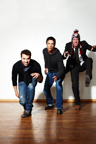 Jeremy Piven, Rob Lowe, and Thomas Jane, I Melt With You