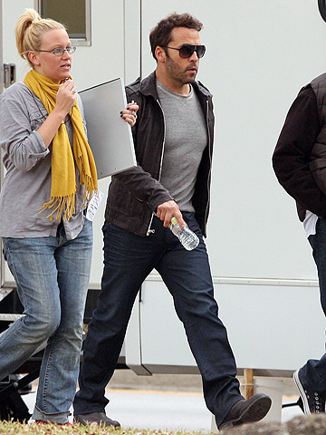 Jeremy Piven on the set of I'm Like Sooo Undercover in New Orleans.