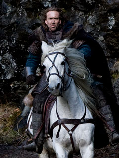A HORSE AND HIS MAN Nicolas Cage rides once more unto the breach in Season of the Witch