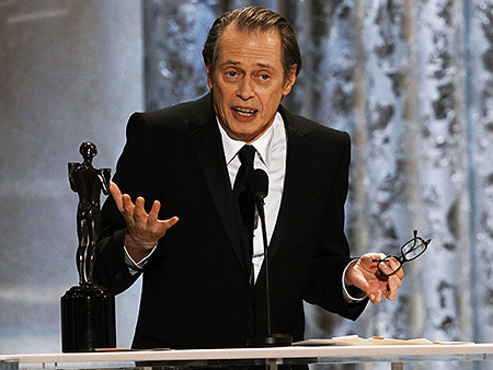 Steve Buscemi, Screen Actors Guild Awards 2011 | Steve Buscemi's gracious acceptance speech Humble and nervous in a charming way, the man who heads up the cast of Boardwalk Empire (which also won…