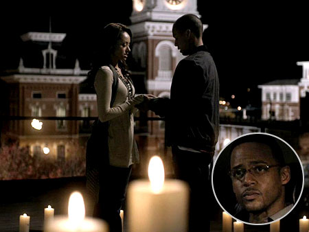 The Vampire Diaries   Witch Bonnie (Katerina Graham) thinks Luka (Bryton James) helped her to destroy the moonstone, when actually, he just took it. Now that Elena knows Luka…