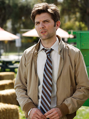 Adam Scott, Parks and Recreation | (Votes received: 492; 3%) ''Ben from Parks and Recreation ! I think I'd move to Indiana if he promised me homemade chicken noodle soup every…