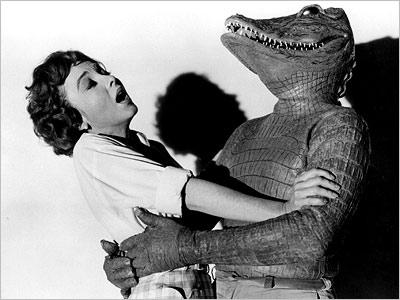 The Alligator People (1959) We like a Saturday afternoon man-in-an-alligator-suit chiller as much as the next guy. But there are good gator costumes and bad…