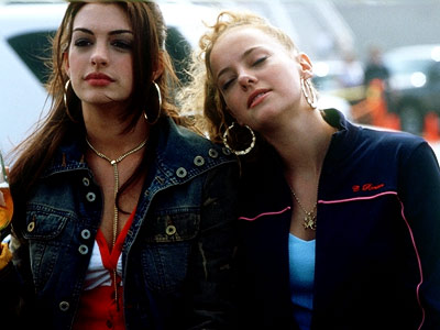 Anne Hathaway, Bijou Phillips | Allison and Emily (Anne Hathaway and Bijou Phillips), Havoc From Rebel Without a Cause to Less Than Zero through both iterations of 90210 , bored,…
