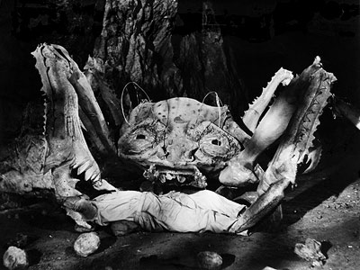 Attack of the Crab Monsters (1957) You couldn't have this list without at least one Roger Corman production. Released with the tagline ''From the depths…