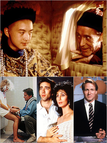 There are years when ''prestige'' is the ultimate Oscar catnip. That was certainly the case when Bernardo Bertolucci's frilly and gorgeous, dramatically bloodless historical drama…