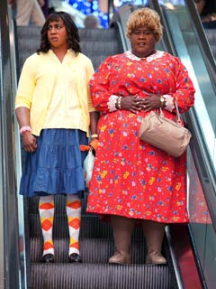 Big Mommas: Like Father, Like Son | FATSUIT DRAG Brandon T. Jackson and Martin Lawrence in Big Mommas: Like Father, Like Son