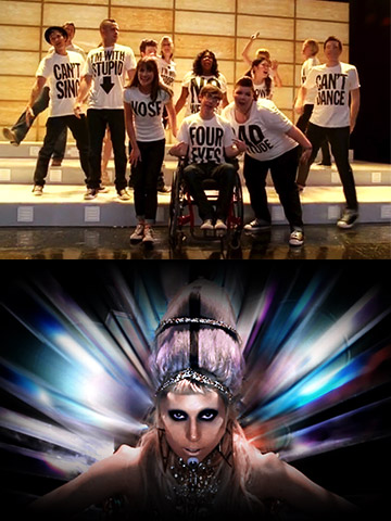 Glee | There was much hype surrounding the Glee cover of the debut single off of Lady Gaga's new album. But while the song failed to light…