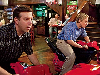 Owen Wilson, Jason Sudeikis, ... | RACING FOOLS Jason Sudeikis and Owen Wilson in Hall Pass