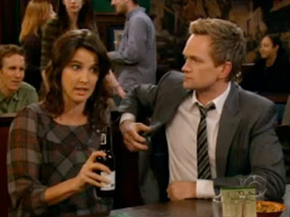 HOW I MET YOUR MOTHER Cobie Smulders and Neil Patrick Harris