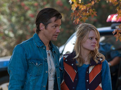 Justified, Timothy Olyphant | Ava had chased Raylan in high school, but she was too young for him then. She married Bowman, Boyd's brother, who abused her — and…
