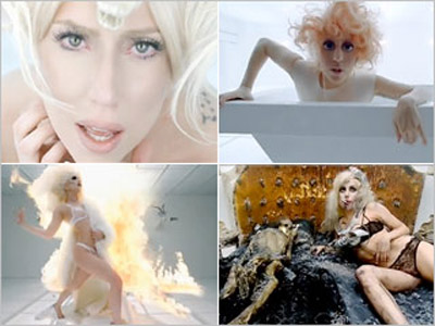 Lady Gaga | Who Will Win: Gaga's ''Bad Romance'' Step aside, all non-Gagas — this one belongs to the woman who practically makes videos her primary art form.…