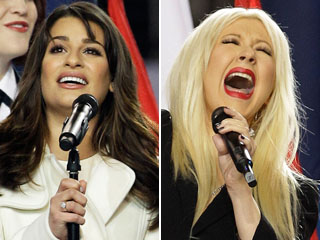 Super Bowl, Christina Aguilera, ...