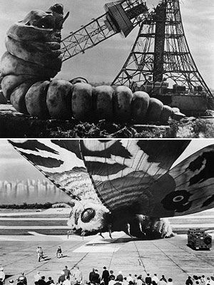 Godzilla vs. Mothra (1962) You should see the size of the sweaters he eats, ba-dump-bump! By the early '60s, Godzilla was looking for new pals…