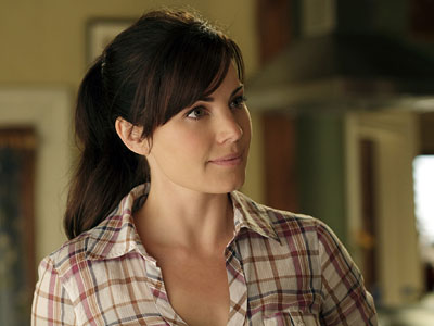 Erica Durance, Smallville | (Votes received: 414; 3%) ''If I was a chick it would be... Erica Durance a.k.a. Lois Lane in Smallville ... She's freaking hot...'' — Kerry…