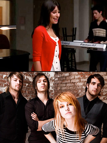 Glee | As much power as Rachel brought to this Paramore hit, Hayley Williams' conviction is unmatched as she sings the words she wrote with now-estranged band…