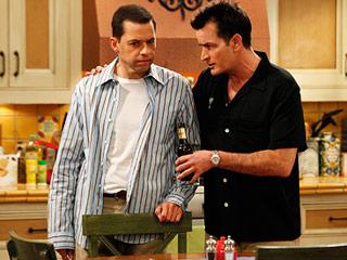 Two Half Men Sheen