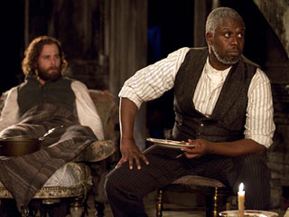 THE WHIPPING MAN Jay Wilkison and André Braugher