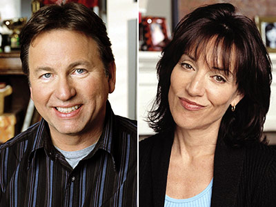 8 Simple Rules | John Ritter : 1 season plus three episodes (2002-03) Katey Sagal : 3 seasons (2002-05) Ritter's character, overprotective dad and newspaper columnist Paul Hennessy, collapsed…