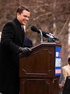 The Adjustment Bureau, Matt Damon
