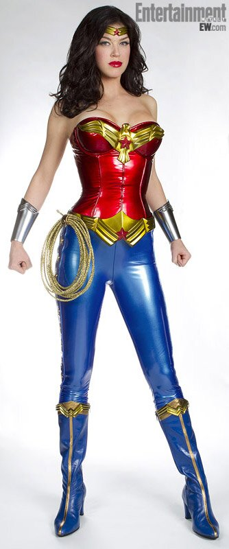 Wonder Woman First Look At Adrianne Palicki In Costume Exclusive Photo Ew Com