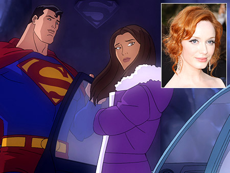 Superman | In this direct-to-DVD adaptation of Grant Morrison and Frank Quitely's acclaimed comic book, Christina Hendricks provided the voice for The Daily Planet 's star reporter.…