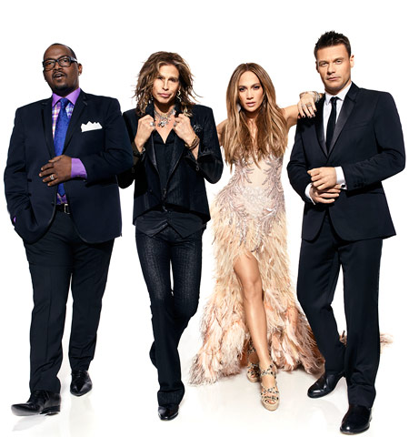 Jennifer Lopez, Steven Tyler   Seacrest: The honest answer is that Jennifer sent us the paragraph that we have to memorize when we greet her each day. It's just full…