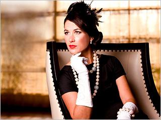 A LITTLE BIT COUNTRY Singer Anna Wilson