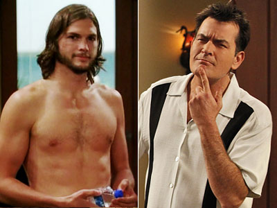 Charlie Sheen: 8 seasons (2003-11) Ashton Kutcher: 1 season (2011) It always seemed that both Sheen and his freewheeling character Charlie Harper could sidle out…