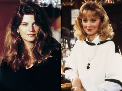 Shelley Long, Kirstie Alley, ... | Replaced Shelley Long on Cheers Carla (Rhea Perlman) wasn't the only one glad to see Diane (Shelley Long) exit the Cheers bar in 1987 after…