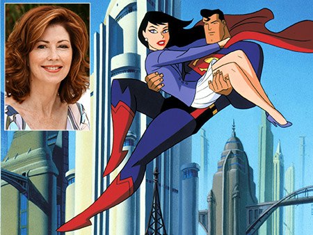 Superman | On the '90s cartoon Superman: The Animated Series , Lois was voiced by Dana Delany. The series returned the character to her roots, playing up…